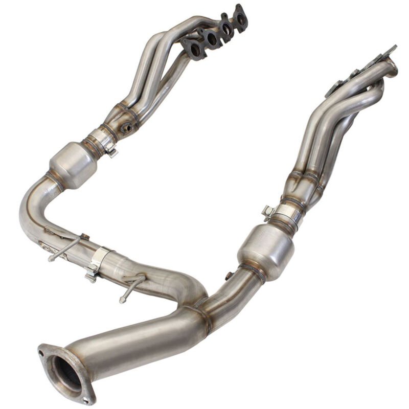 2015-2019 F150 5.0L aFe Twisted Steel Long Tube Headers & Catted Street Y-Pipe Kit (48-State Legal)