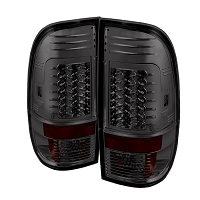 2008-2016 F250 & F350 Spyder Version 2 LED Tail Lights (Smoked)