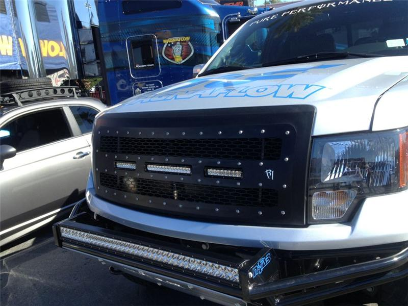 2012 Ford Focus Review >> 2009-2012 F150 Rigid Industries LED Grille SR-Series 40558