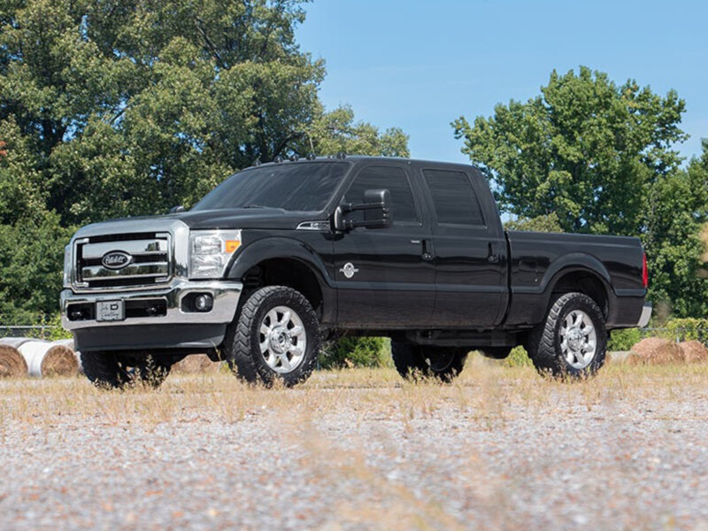 """2005-2019 F250 & F350 Rough Country 2"""" Spacer Leveling Kit 514"""