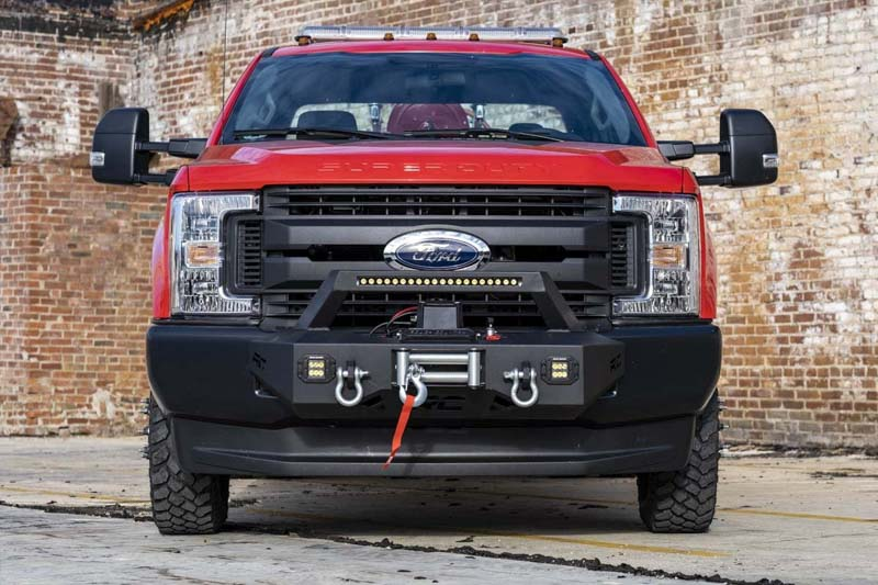 2017 Roush Mustang Price >> 2017-2020 F250/F350 Rough Country EXO Winch Mount System 51004