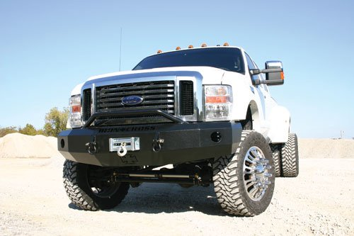 2008 2010 F250 Amp F350 Iron Cross Replacement Front Bumper