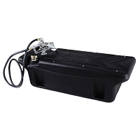 2008-2018 F250 & F350 Titan 60-gal In-Bed Fuel Transfer Tank w/ Pump & Nozzle