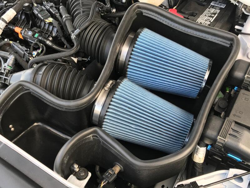fusion sport steeda twin turbo cold air intake