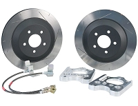 2005-2014 Mustang GT / GT500 Steeda Brake Upgrade Kit (Rear)