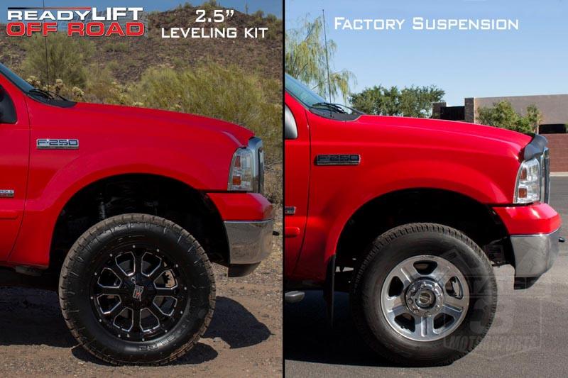 "2005-2010 Super Duty F250 & F350 4WD ReadyLIFT 2.5"" Coil ..."