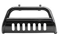 2004-2014 F150 Smittybilt Grille Saver Front Bull Guard (Black)