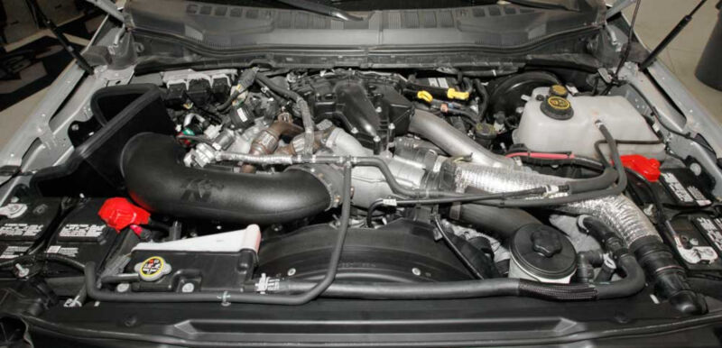 F F Kn Cold Air Intake on 2000 Ford Expedition Engine