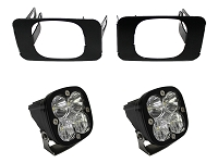 2015-2020 F150 Baja Designs Squadron SAE-Compliant Off-Road LED Fog Light Kit (Includes Mounts)