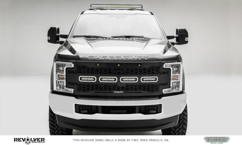 2019 Gt 500 >> 2017-2019 F250 & F350 T-REX Revolver Series Main Replacement Grille w/ Light Bars 6515641