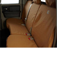 15-20 F150 SuperCrew Front Bench Carhartt Brown Rear Covers