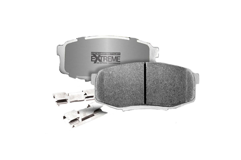 2015-2017 Mustang GT with Brembo Brakes Power Stop Z26 Extreme Performance  Carbon-Ceramic Front Brake Pads
