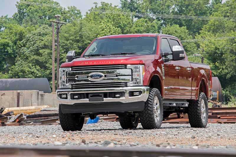 2017 2020 F250 Lariat Rough Country 8 Quot Led Grille Kit