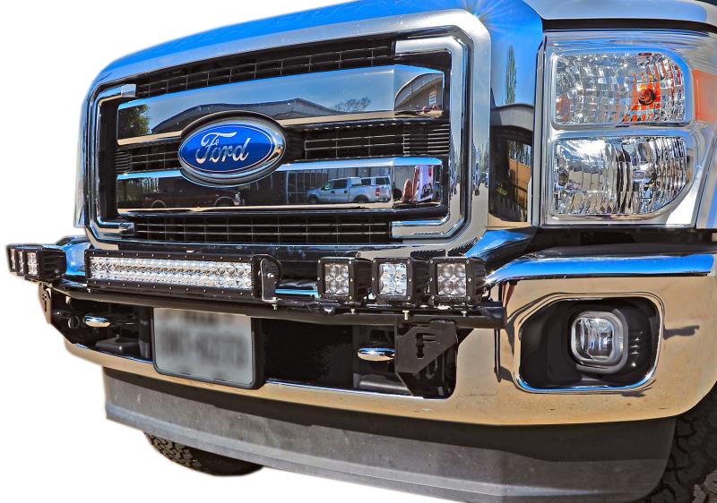 2004 2008 f150 n fab front bumper multi mount led light bar f0430ld aloadofball Image collections