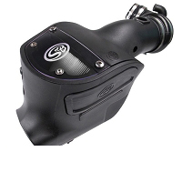 2008-2010 F250 & F350 6.4L S&B Cold Air Intake System (Dry Disposable Filter)