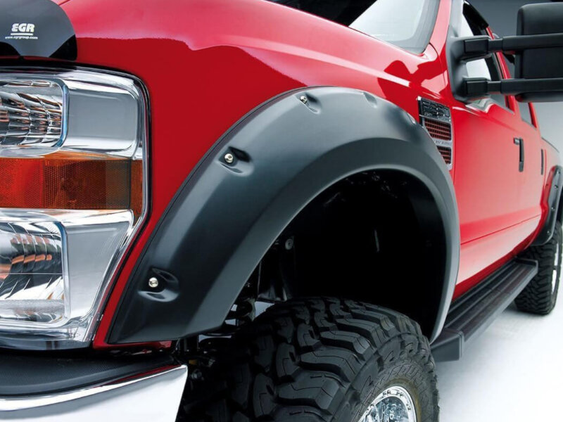 Ford Mustang 2017 Ecoboost >> 2017-2019 F250/F350 EGR Bolt-On Look Fender Flares EGR793915