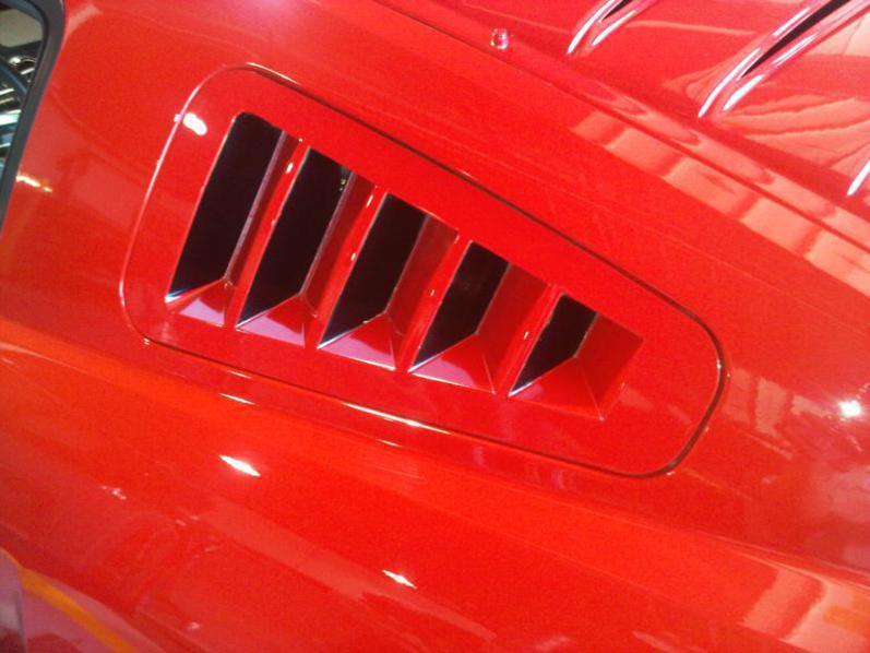 2005 2009 Mustang Gt Window Louvers