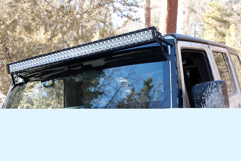 Anzo rugged vision 52 inch off road led light bar white spot 881030 hover to zoom aloadofball Images