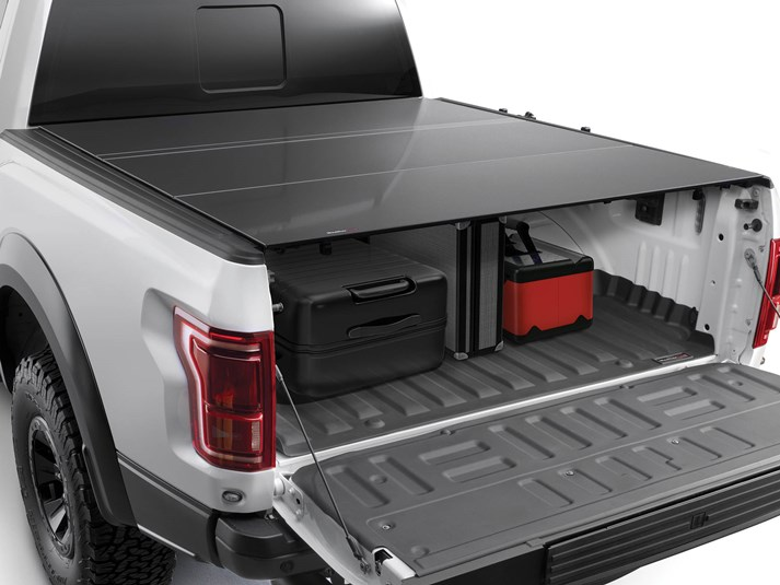 2017 2020 F250 F350 Weathertech Alloycover Tri Fold Bed Cover Short Bed 8hf010046