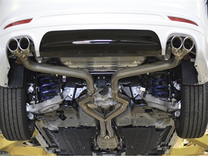 F Fusion Sport Mrt Axleback Performance Exhaust System on 2013 Mustang Roush Axle Back Exhaust