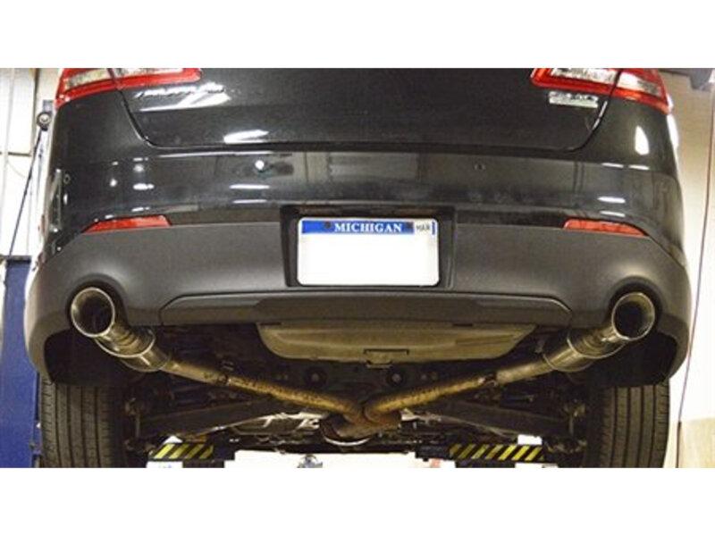 2016 Ford Taurus Sho >> 2010-2016 Taurus SHO MRT Eco-Flow Axle-Back Performance Exhaust System 91L700