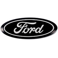 17-19 F250 & F350 Putco Front/Rear Black Bolt-On Ford Emblems (No Camera Provision)