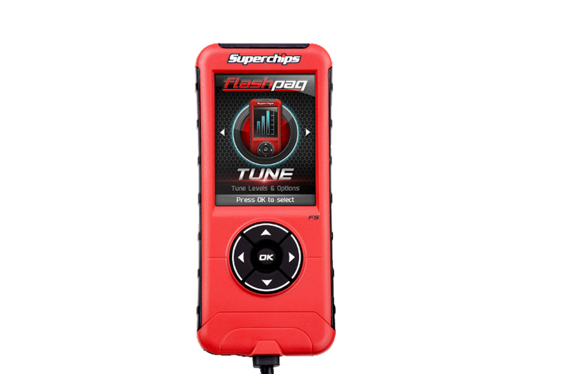 1996-2014 Ford SuperChips CARB Flashpaq F5 Handheld Tuner