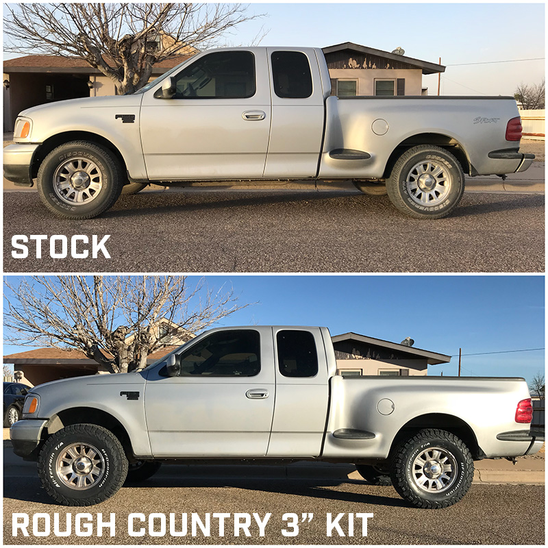 1997 2003 F150 2wd Rough Country 3 Leveling Lift Kit 528 20