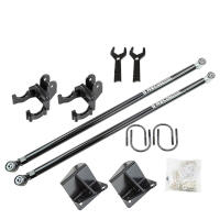 99-16 F250 & F350 SRW BDS Recoil Traction Bars & Mount for 0-8