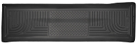 2011-2016 F250 & F350 Crew Cab Husky WeatherBeater Rear Floor Mat (Black)