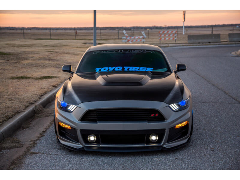 2018 Mustang Roush Stage 3 >> 2015-2017 Mustang Anderson Composites GT350R-Style Carbon Fiber Hood AC-HD15FDMU-GR