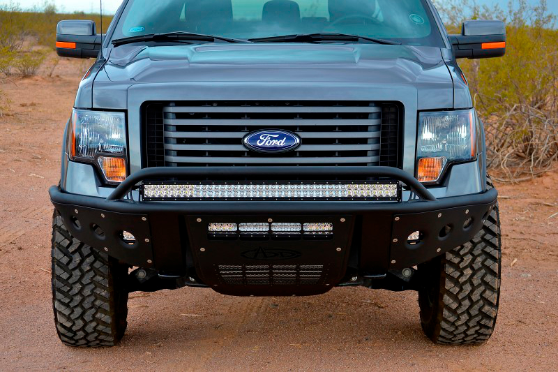 F Ecoboost Add Stealth Paneled Vented Front Off Road Bumper