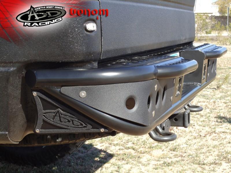 2009 2014 f150 raptor add venom rear off road bumper for sensors r012231280103. Black Bedroom Furniture Sets. Home Design Ideas