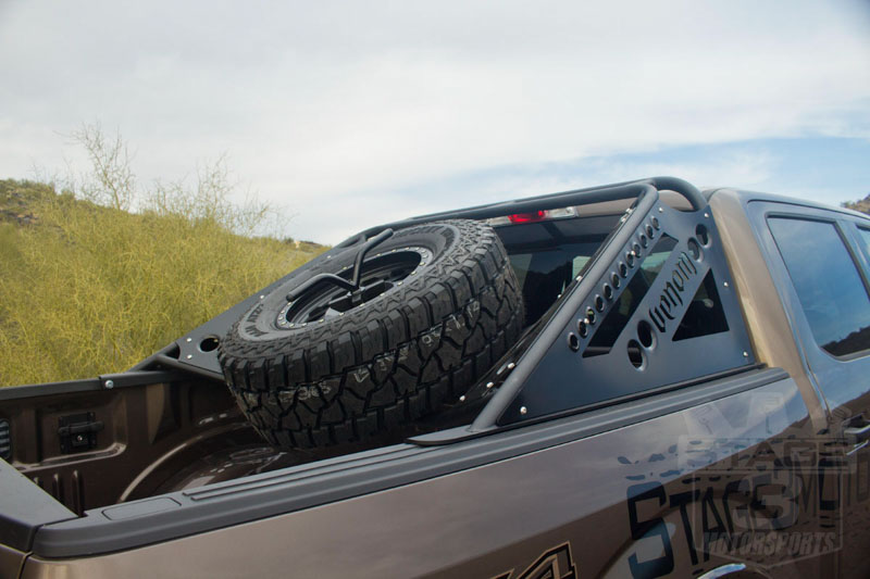 2004 2019 F150 Amp Svt Raptor Add Venom Chase Rack With Tire