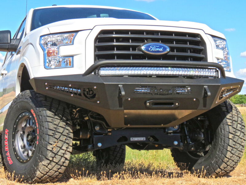 2015 2017 F150 Add Honey Badger Winch Mount Front Off Road Bumper Desert Dynamics Wiring Diagram Tap To Expand