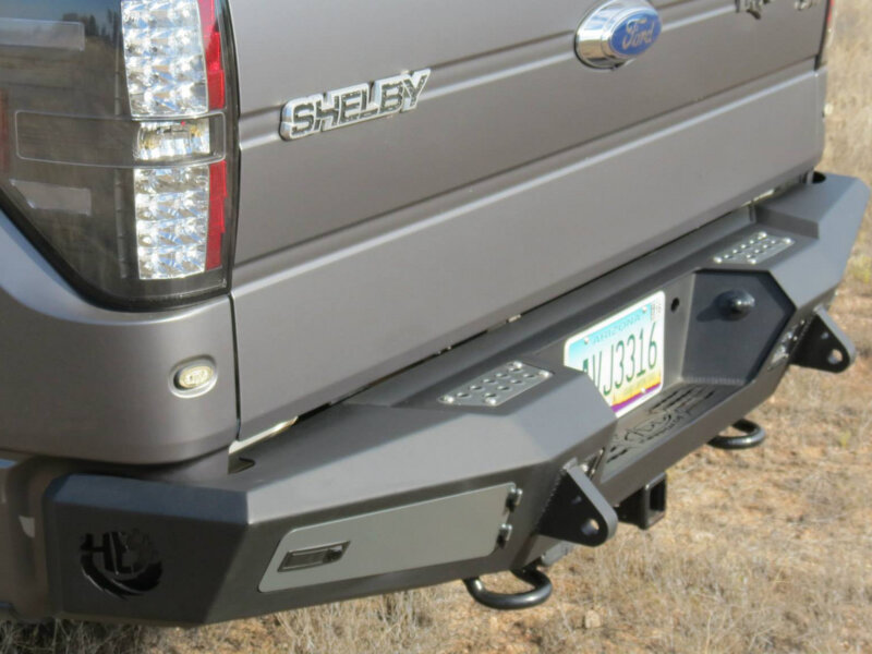 2009 2014 F150 Amp Svt Raptor Add Honey Badger Rear Bumper