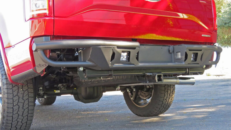 Add F Rearbumper on 2007 Ford F 150