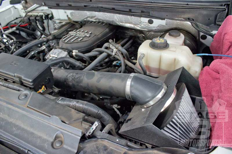 2011-2014 F150 5.0L AFE Stage 2 Cold Air Intake System - Dry 51-11962-1B