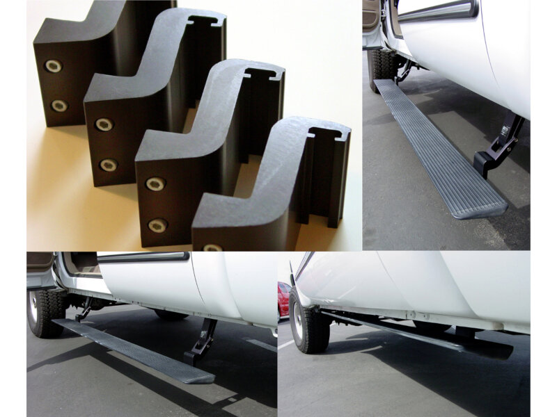"""Amp Running Boards >> AMP Research 2"""" Extension Arm Kit for AMP Research Powered ..."""