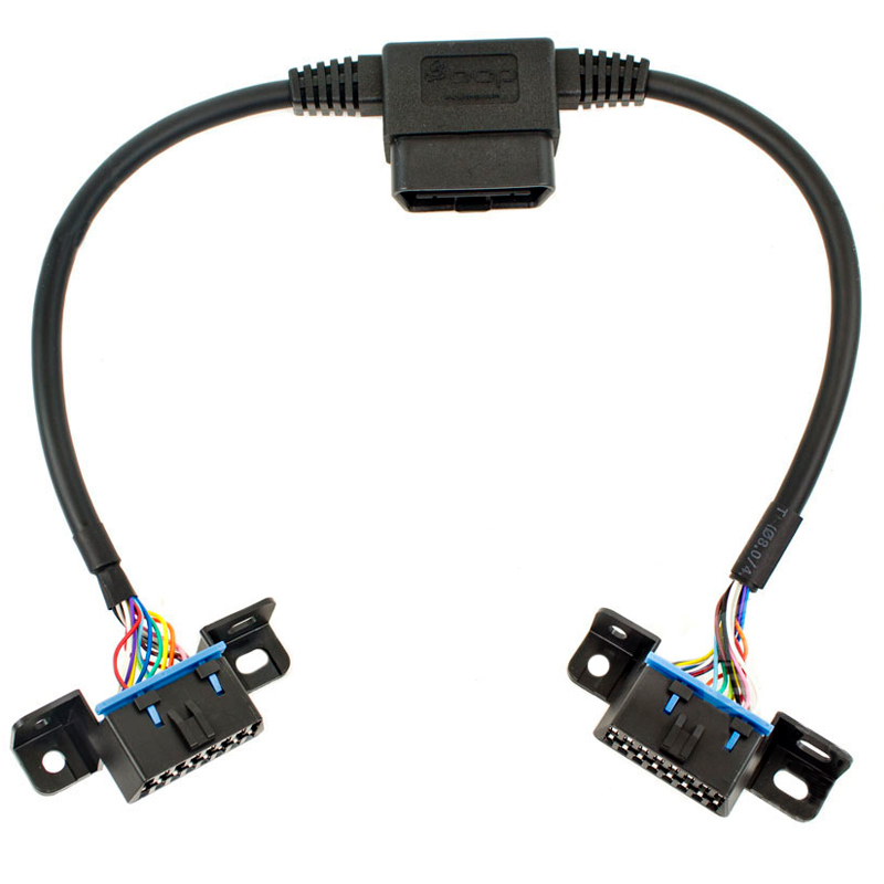 2008-2018 f150/f250 amp research plug-n-play pass through ... amp research wiring harness amp to stereo rca to speaker wiring harness factory line