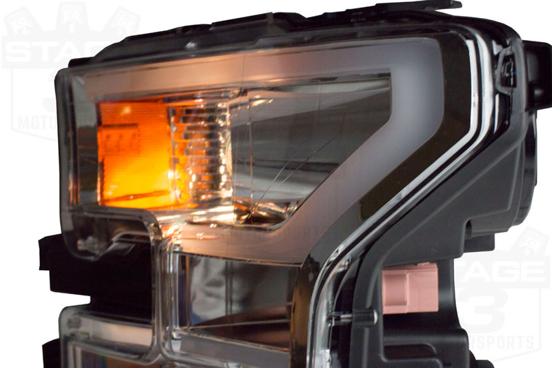 2015 2017 F150 Anzo Led Outline Projector Headlights