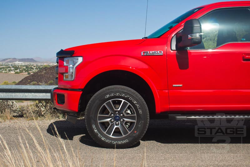 2015 F150 Auto Spring 2-Inch Leveling Kit Installed
