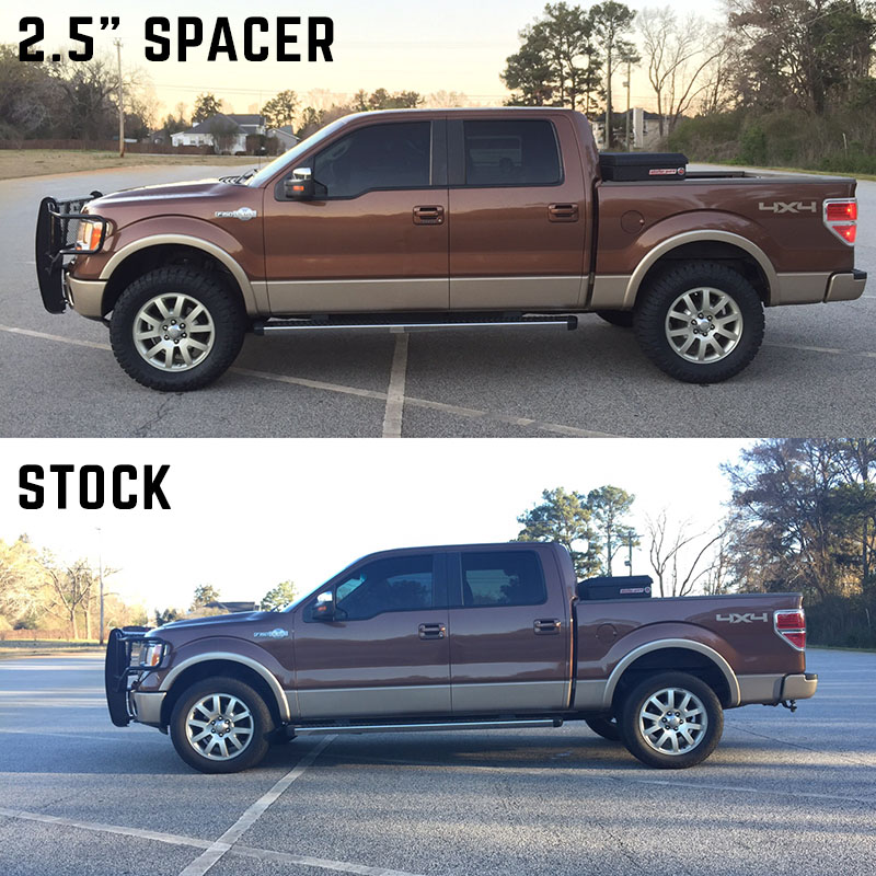 """2013 Ford F150 Leveling Kit >> 2009-2013 F150 Auto Spring 2.5"""" Front Leveling Kit AS2501"""