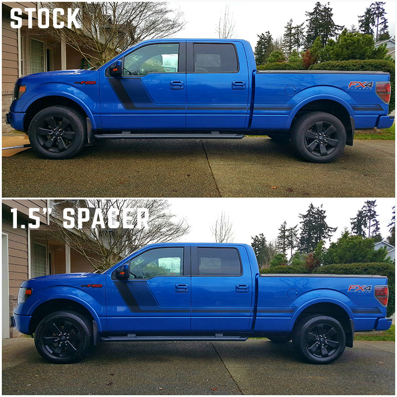 2004 2013 F150 Auto Spring 1 5 Front Leveling Kit As150