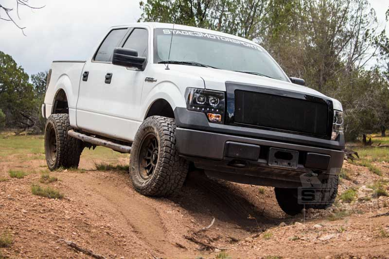 2009 2014 f150 4wd stage 3 boss trail suspension pack 1