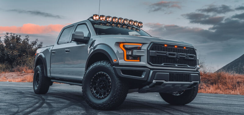 Ford Raptor Paint Jobs