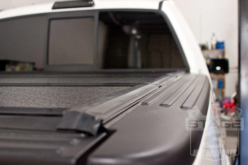 2013 F150 EcoBoost Platinum with BAKFlip G2 Tonneau Cover Installed