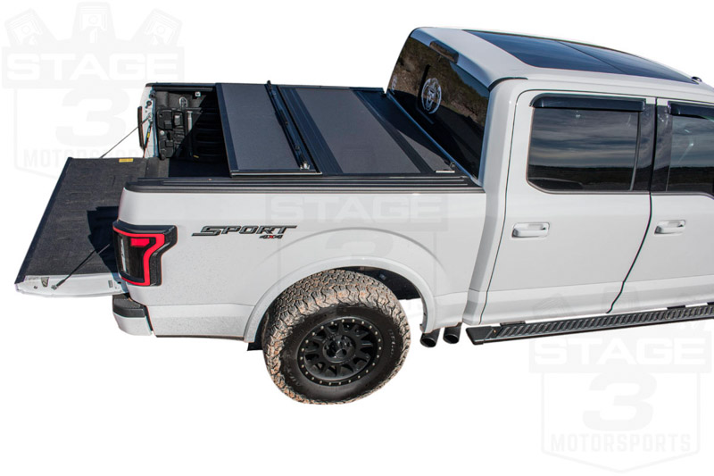 F 150 Shelby Raptor >> 2015-2019 F150 5.5ft Bed BAKFlip MX4 Hard Folding Tonneau Cover 448329