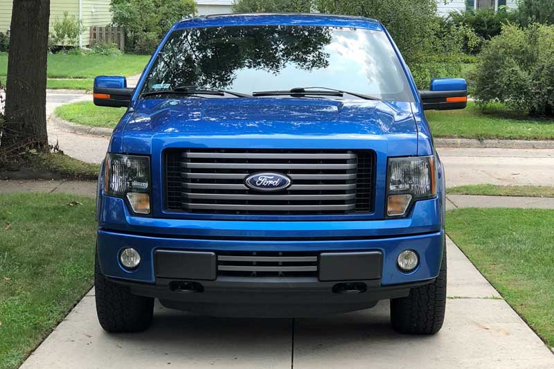 2012 F150 Grill >> 2011 2012 F150 Fx2 Fx4 Boost Bars Lower Two Bar Grille
