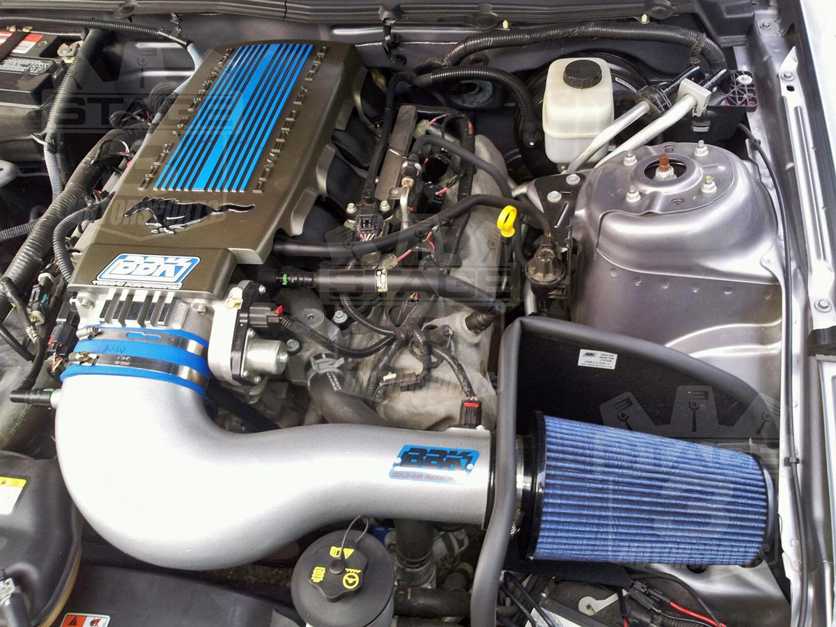 Mustang Gt Bbk Cold Air Intake Installed